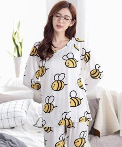 Adorable Animal Print Women Pajamas 6
