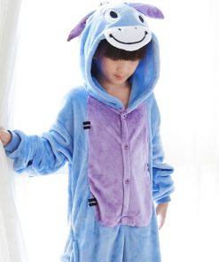 Animal theme Onesie Pajamas for Mother and Daughter 4