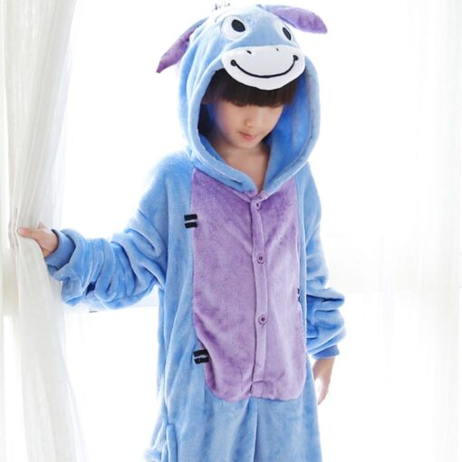 Animal theme Onesie Pajamas for Mother and Daughter 2