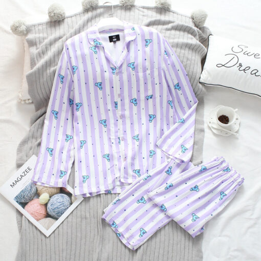 Cute and Cozy Animal Print Women Pajamas 1