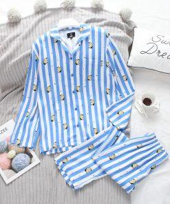 Animal Print Cute Cotton Women Pajamas 3
