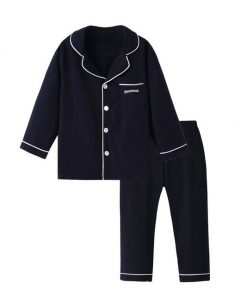 Adorable Solid Color Pajamas For Kids 3