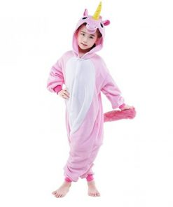 Children Unisex Unicorn Onesie Animal Pajamas Boys/Girls 4