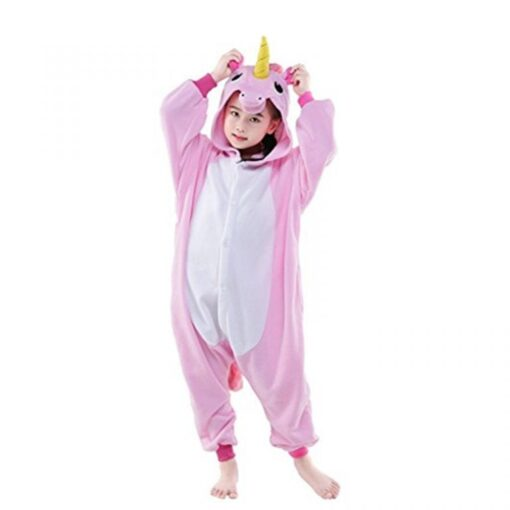 Children Unisex Unicorn Onesie Animal Pajamas Boys/Girls 1