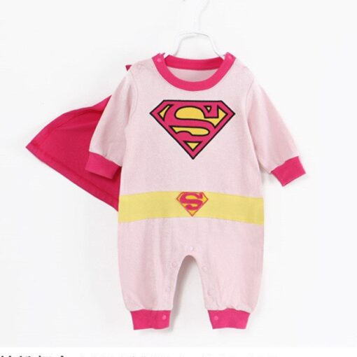 Infant Baby Superhero Pajamas 1