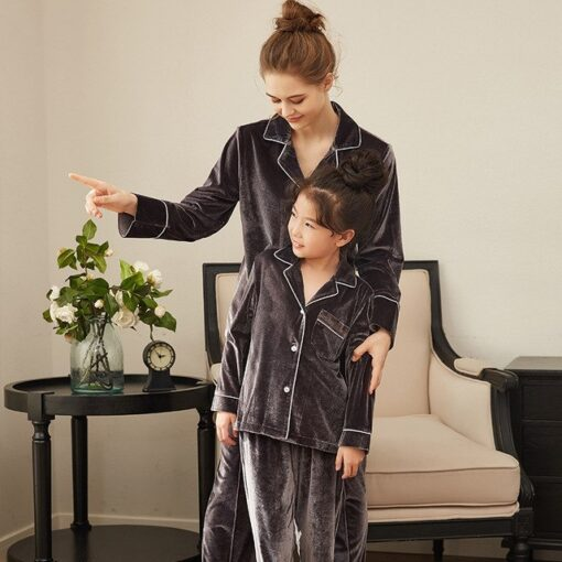 Matching Mommy and Me Pajamas Set 2