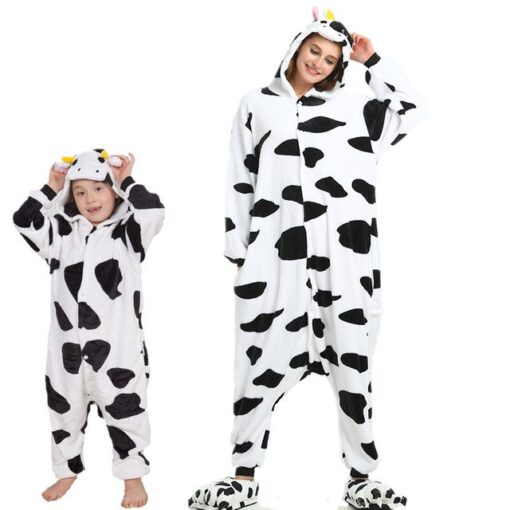 Animal theme Mother and Daughter Pajamas 1