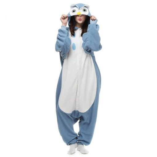 Cosplay Owl Onesie Pajamas For Adult 1