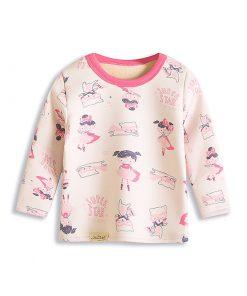Adorable Basic Cartoon Pajamas for Kids 4