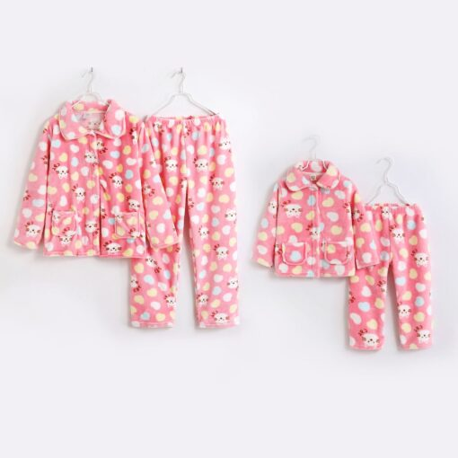 Matching Mother and Daughter Pajamas 1
