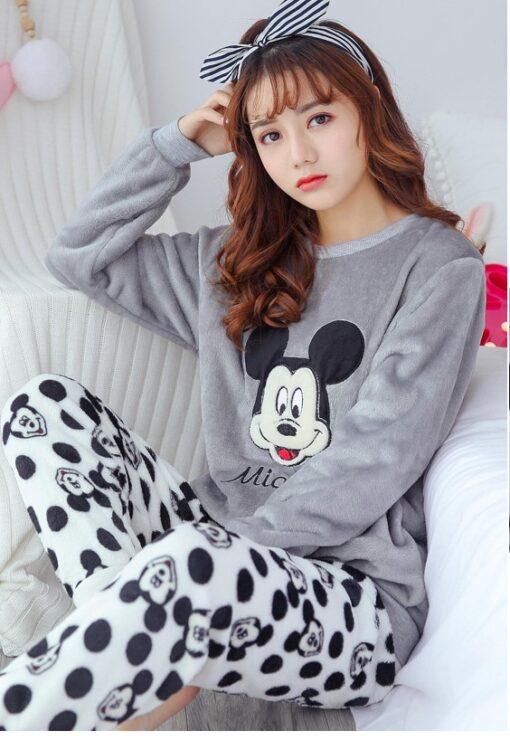 Adorable Cartoon Pajamas For Women 1