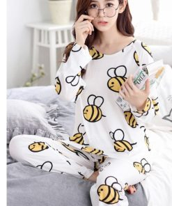 Adorable Animal Print Women Pajamas 9