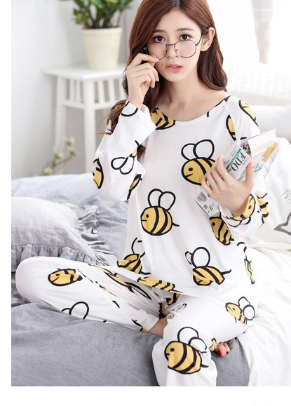 Adorable Animal Print Women Pajamas 5
