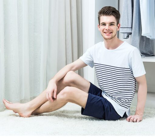 Cool Striped Men's Nightwear Pajamas 3