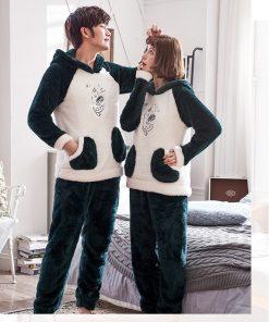Winter Cute Couple Matching Pajamas 6