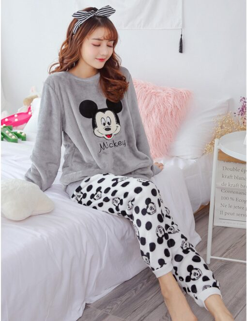 Adorable Cartoon Pajamas For Women 4
