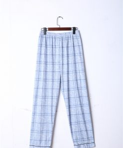 Cool Casual Plaids Men Pajamas 5