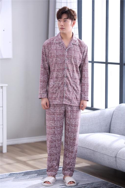 Cool Plaids Pajamas for Men 2