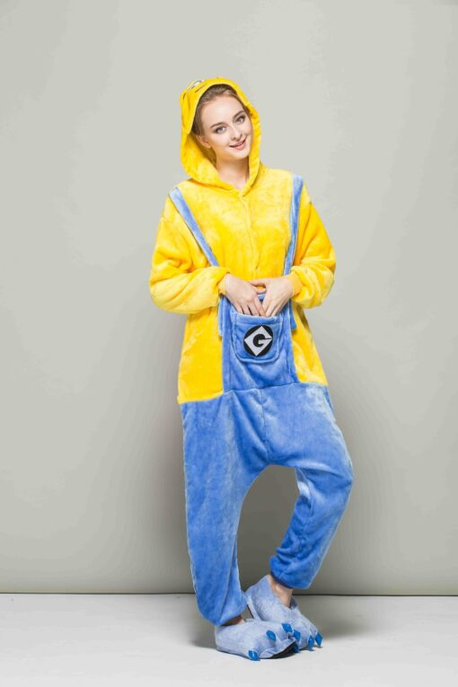 Minion Theme Matching Onesies for Couples 4