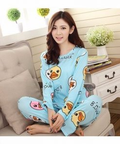 Adorable Cartoon Pajamas For Women 3