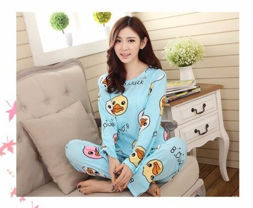 Adorable Cartoon Pajamas For Women 1