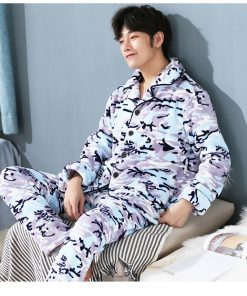 Men Soft and Cozy Winter Pajamas 6