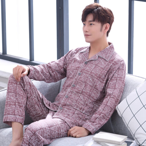 Cool Plaids Pajamas for Men 1