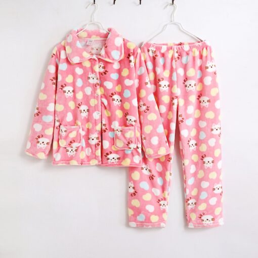 Matching Mother and Daughter Pajamas 2