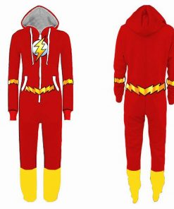 Justice League Flash Pajamas for Adult 5