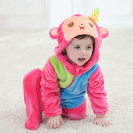 Little Kitten Romper Onesie Pajamas For Toddler 1