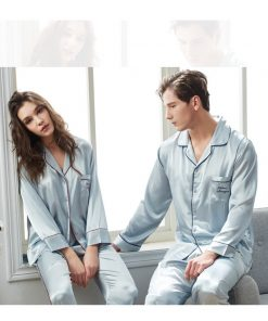 Spring Matching Pajama Sets for Couples 7