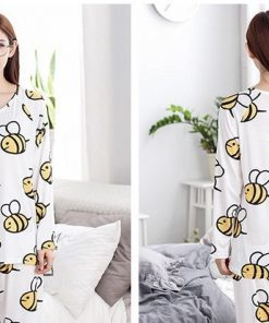 Adorable Animal Print Women Pajamas 8