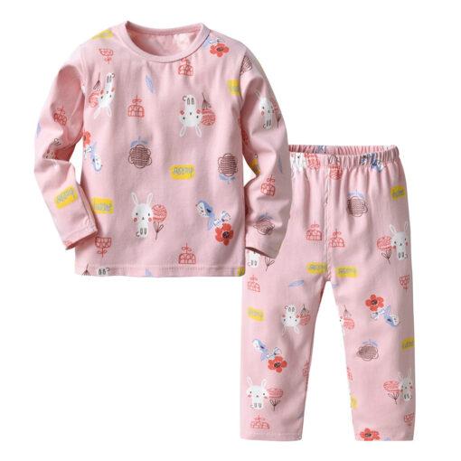 Cartoon Printed Pajamas for kids 1