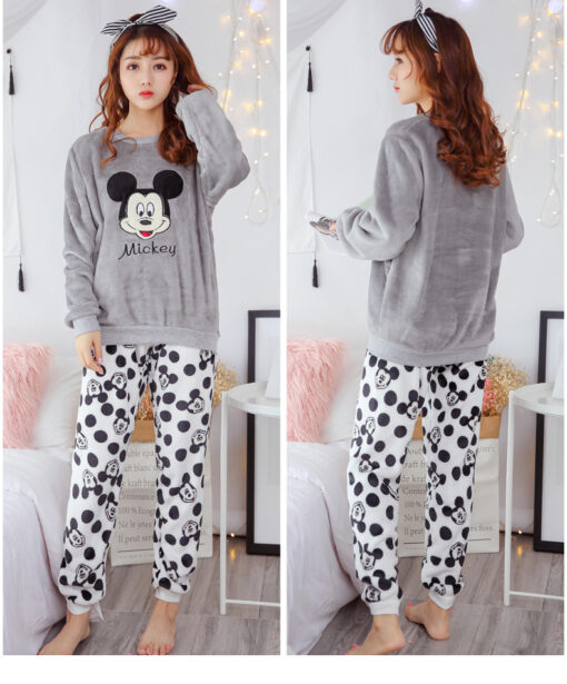 Adorable Cartoon Pajamas For Women 5