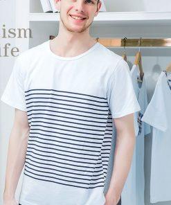 Cool Striped Men's Nightwear Pajamas 5