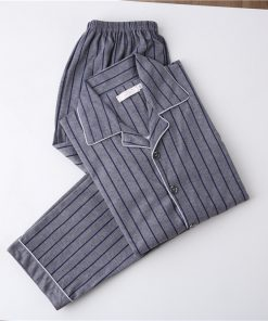 Cozy and Casual Striped Pajamas for Men 3