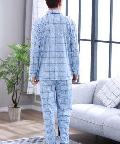 Cool Casual Plaids Men Pajamas 4