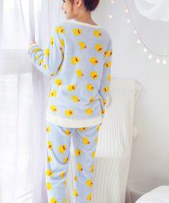 Bird Print Pajamas For Women 4