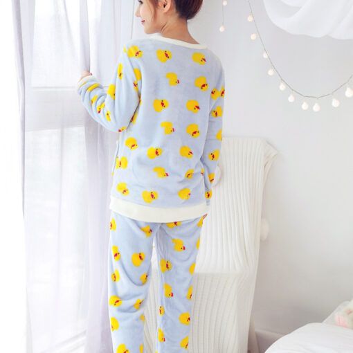 Bird Print Pajamas For Women 2