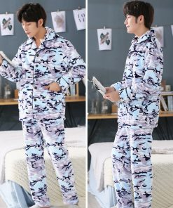 Men Soft and Cozy Winter Pajamas 8