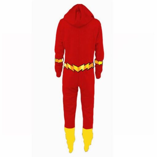 Justice League Flash Pajamas for Adult 3