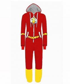Justice League Flash Pajamas for Adult 7