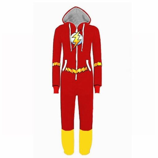 Justice League Flash Pajamas for Adult 4