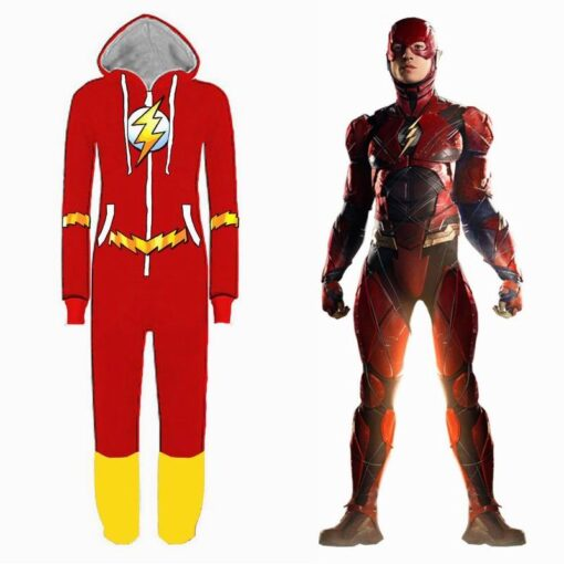 Justice League Flash Pajamas for Adult 1