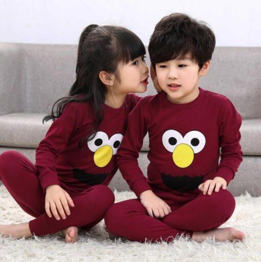Cute Prints Pajamas For Kids 4