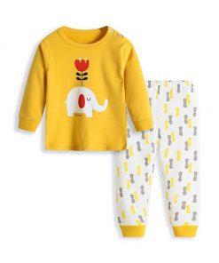 Cute Cartoon Print Pajamas for Kids 3