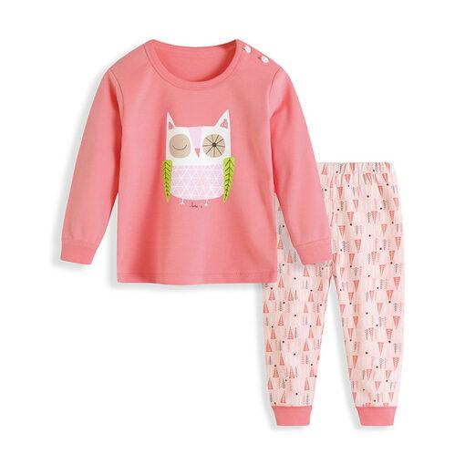 Cute Kitty Cartoon Pajamas for kids 1