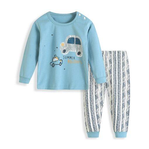 Cute Printed Pajamas for Kids 1