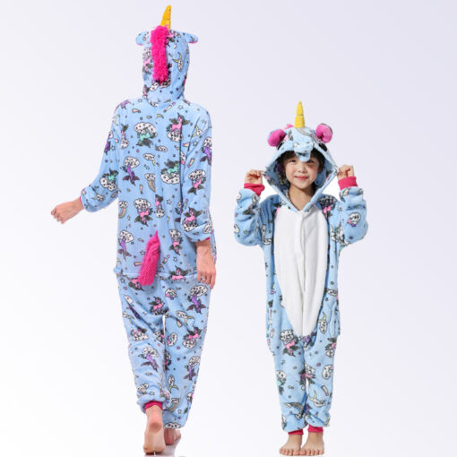 Elegant Mommy and Me Pajamas 1
