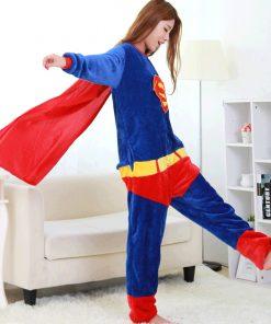 Superhero Unisex Onesie Pajamas 4